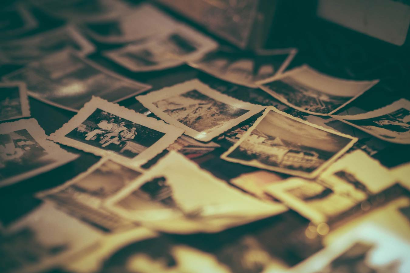 Memories come as story pieces